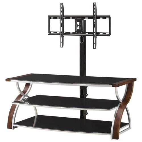 Whalen Furniture 3 In 1 Tv Stand For Most Flat Panel Tvs Up To 60