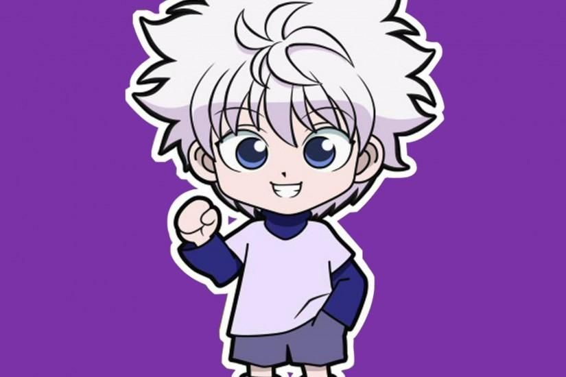 Chibi Killua Tap to see more Hunter x Hunter wallpaper
