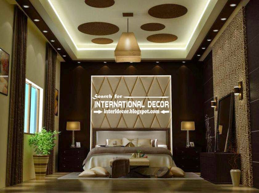 Modern Pop False Ceiling Designs For Luxury Bedroom 2015 Bedroom