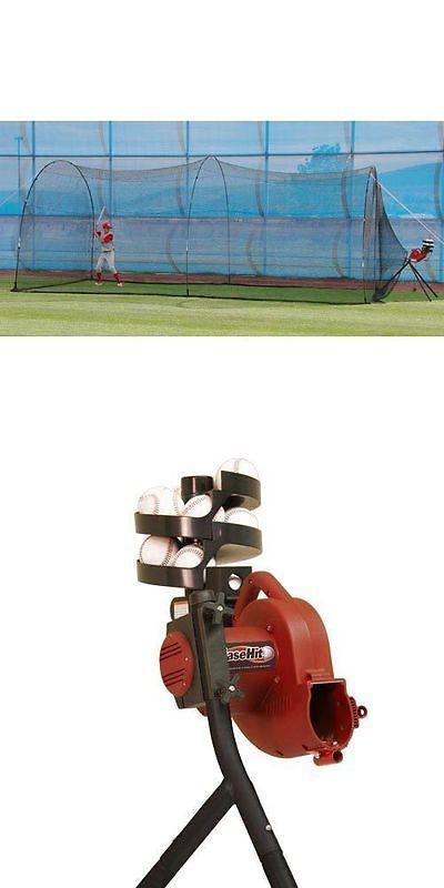 Pitching Machines 58061: Basehit Pitching Machine And ...