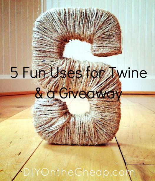 Diy Twine Projects To Do List Pinterest Twine And Craft