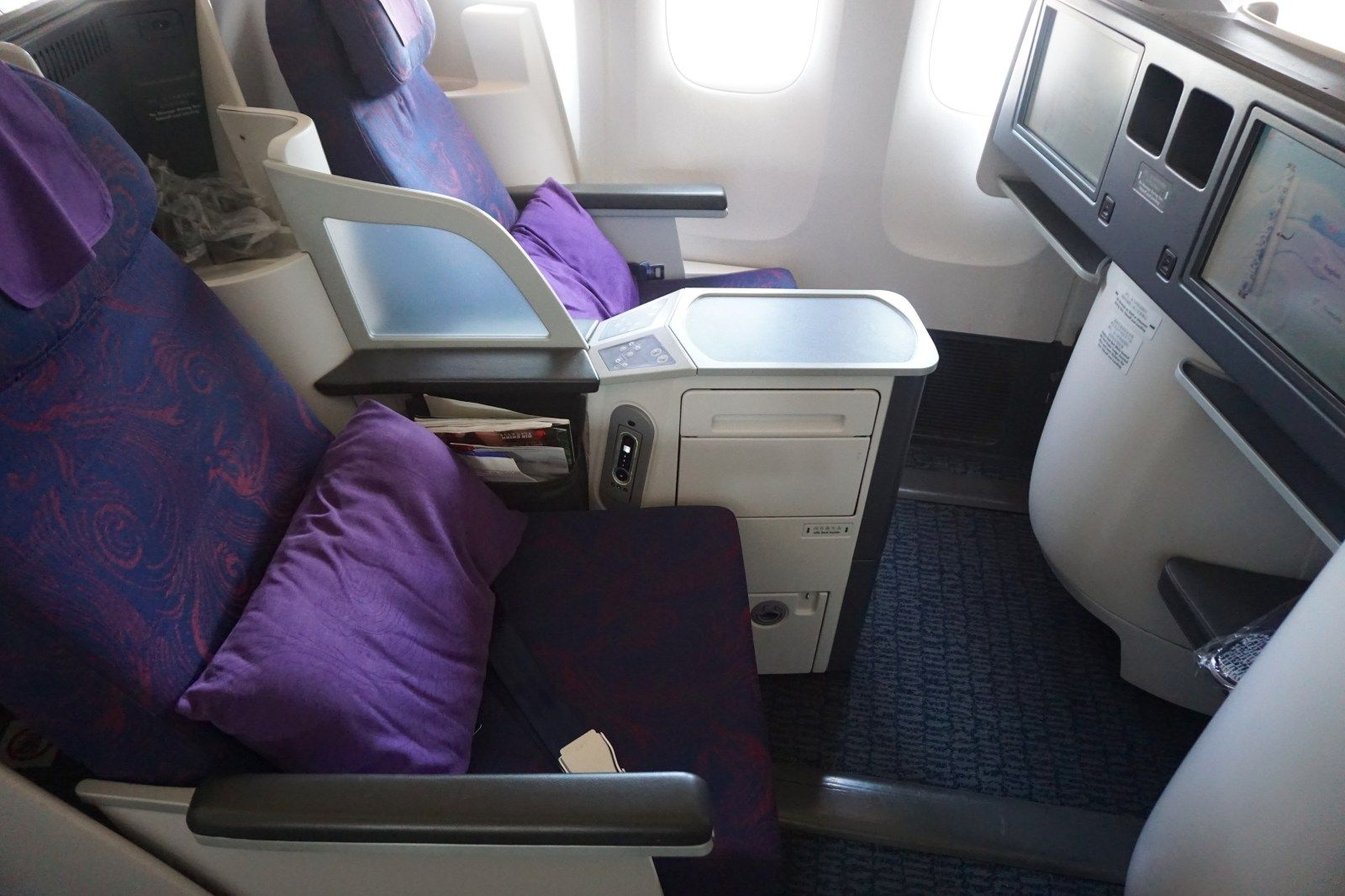 Air China 777300 Business Class in 5 Pictures