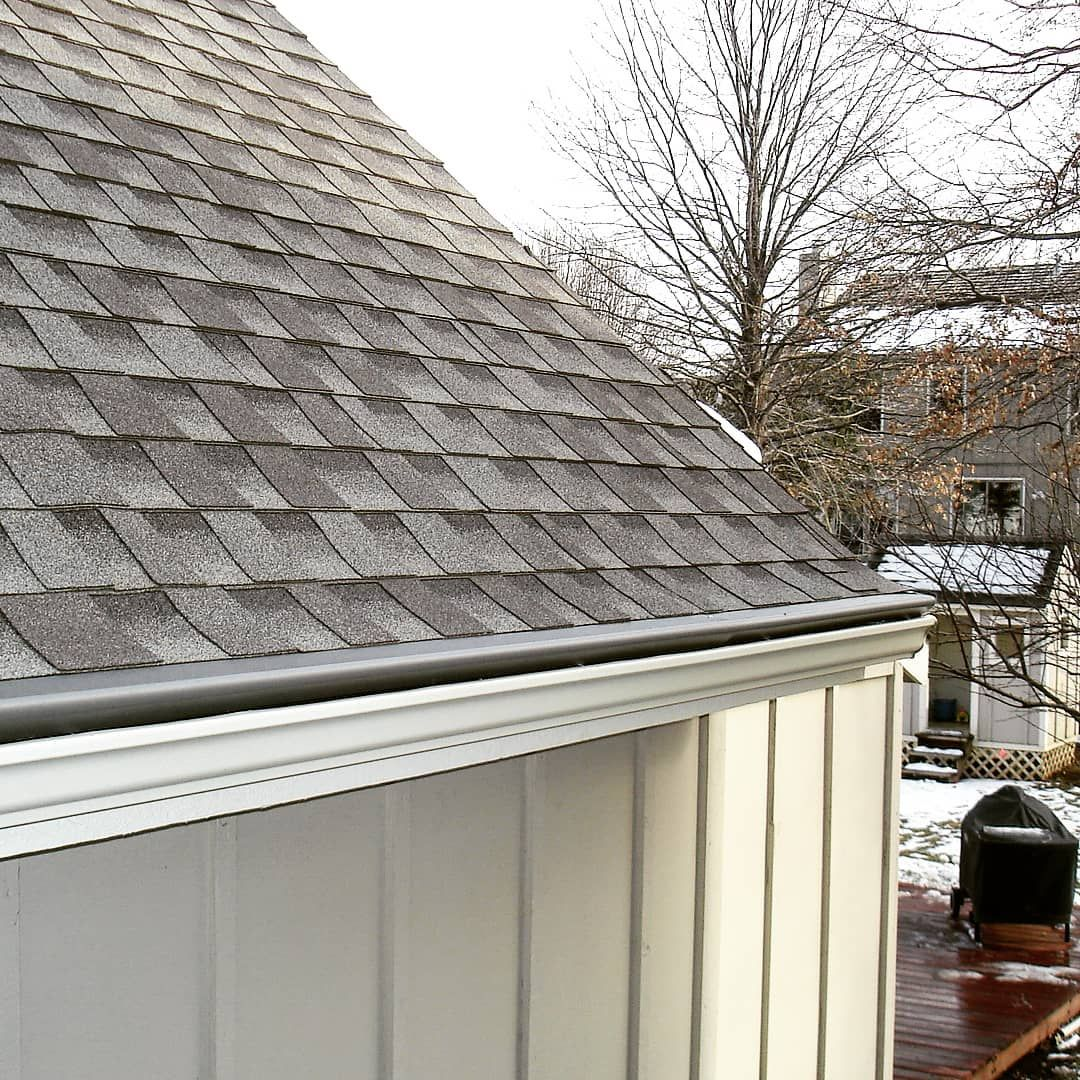 Catch a close up on our gutter guard! Our design is not
