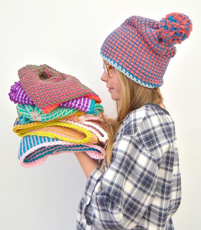 9 Free Tunisian Crochet Patterns for Beginners | My Poppet Makes #tunisiancrochet