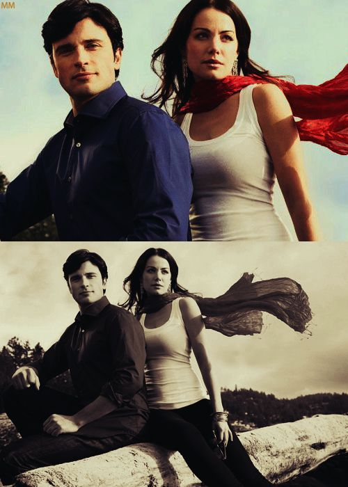 smallville. one of my favorite shows of all time. obsessed with lois & clark