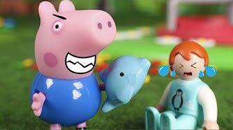 Peppa Pig Juguetes en Español 🐷 Peppa se marcha de casa ❤️ - YouTube