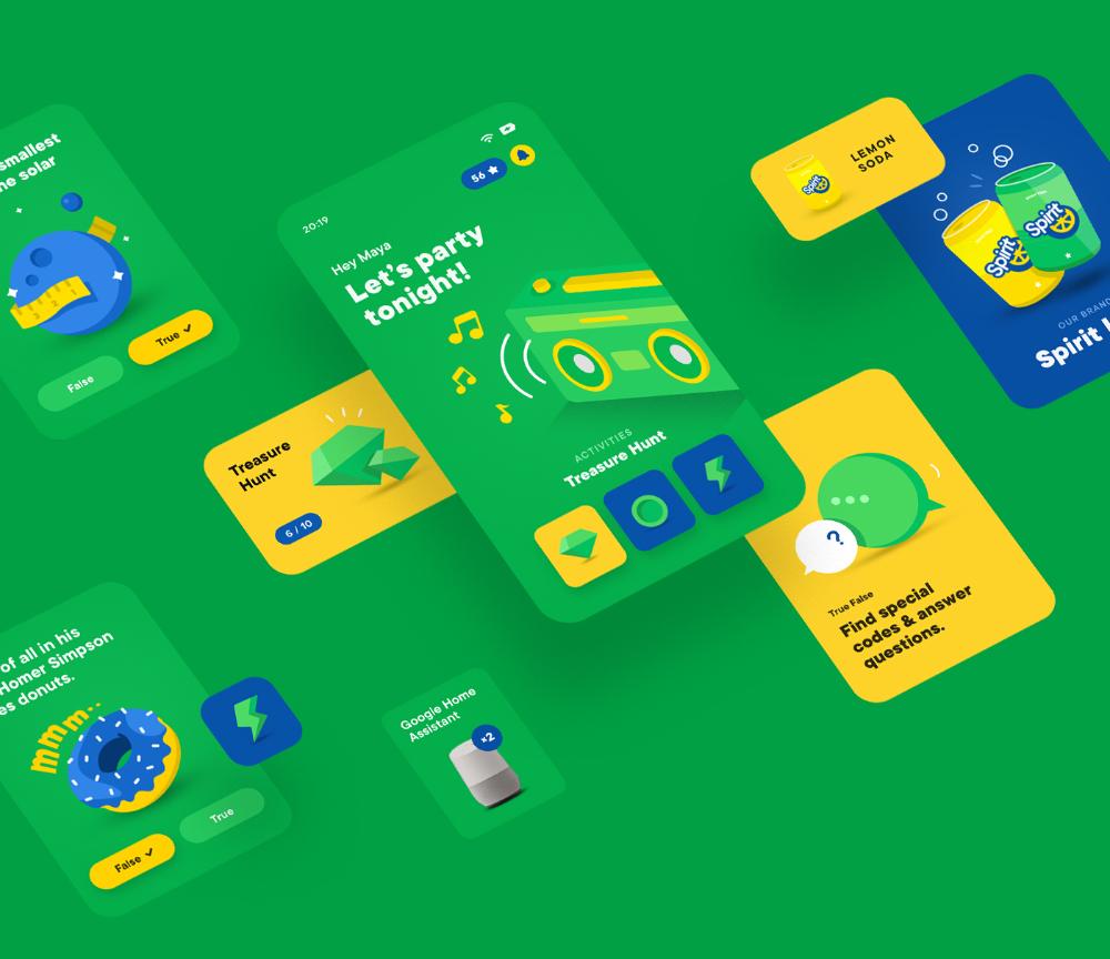Spirit Lime App on Behance