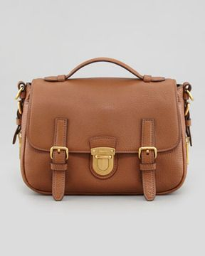 847b120ec1d4 Prada Daino Flap-Lock Messenger Bag, Brown on shopstyle.com ...