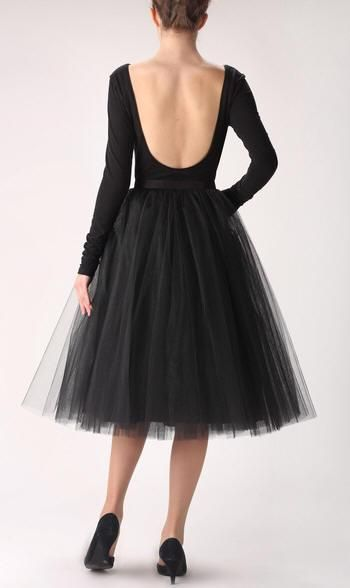 Fashion Simple Women Skirts 5 Layers Black Tutu Slirt Tea Length Tutu Skirt For Wedding Bridesmaid Tutu Gowns Tulle Under $40 Custom Made Party Dresses Nz Party Dresses Online Shopping From Caradress, $31.16| Dhgate.Com