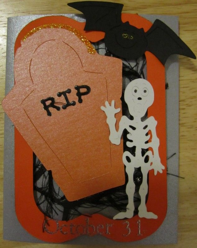 Halloween Cards To Make Ideas Part - 15: 21 Interesting And Easy DIY Halloween Cards