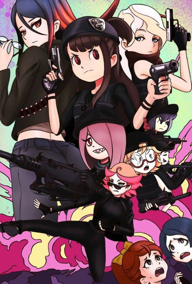 Pin by Spike on Little Witch Academia Little witch
