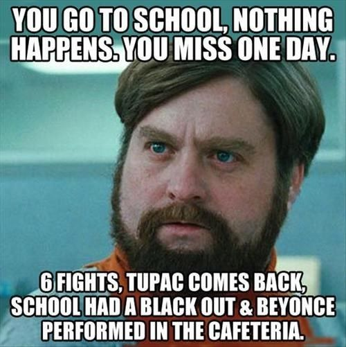 I Told You That You Missed Everything When You Were Absent Funny School Memes Funny Memes About Life Laughing So Hard