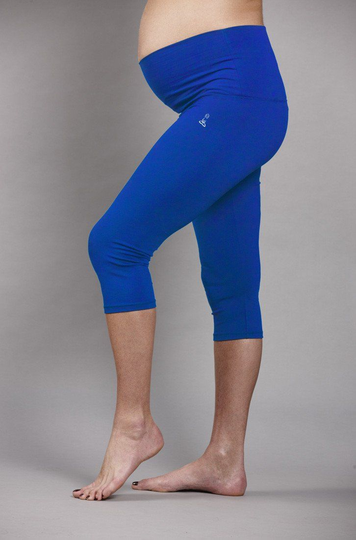 cd7f079caaa9f Ingrid & Isabel® Knee Length Maternity Workout Pants available at #Nordstrom  | Fashion & Style: Maternity | Maternity Pants, Maternity leggings, Workout  ...