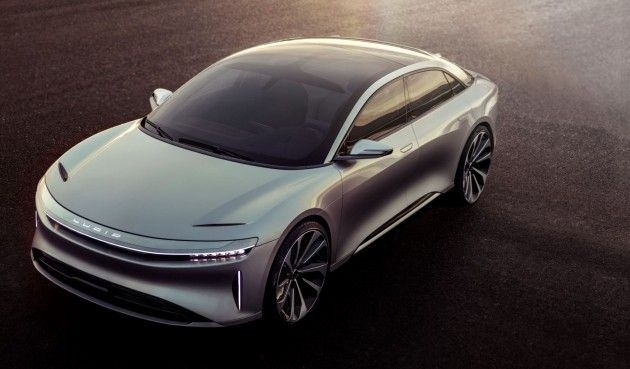 Lucid Air Ev With 400 Mile Range 100k Price Tag Is Gorgeous Hybrid Car Electric Cars Concept Cars