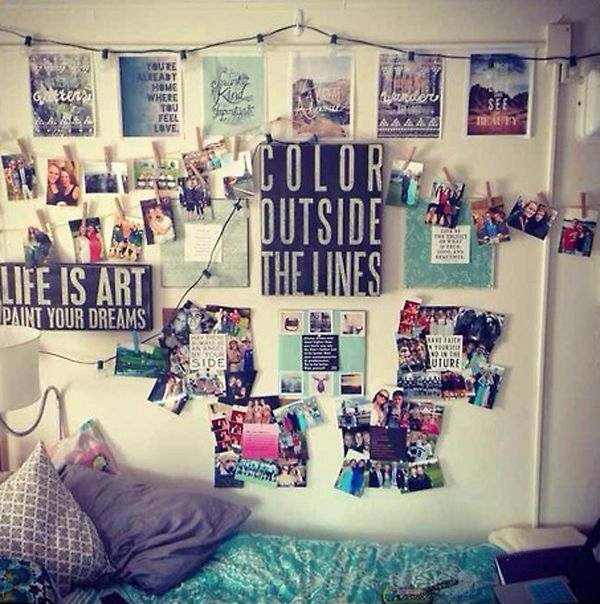 20 Cool College Dorm Room Ideas House Design And Decor Dorm Wall Decor Dorm Room Decor Dorm Room Walls