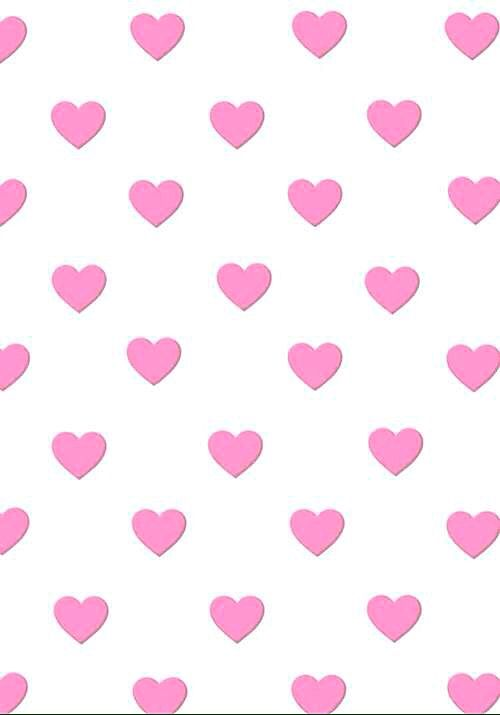 Pink Hearts Polka Dots Wallpaper Heart Wallpaper Cute Notebooks