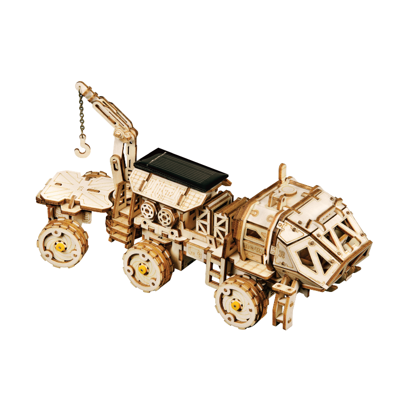 Rokr Navitas Rover Solar Powered Space Building Toy Rokr Store Wooden Puzzles Solar Powered Toys Gifts For Adults