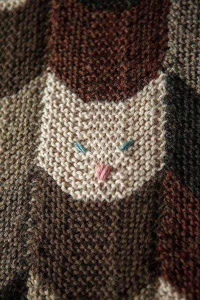 Kitties On My Lap Blanket Knitting Patterns And Crochet Patterns