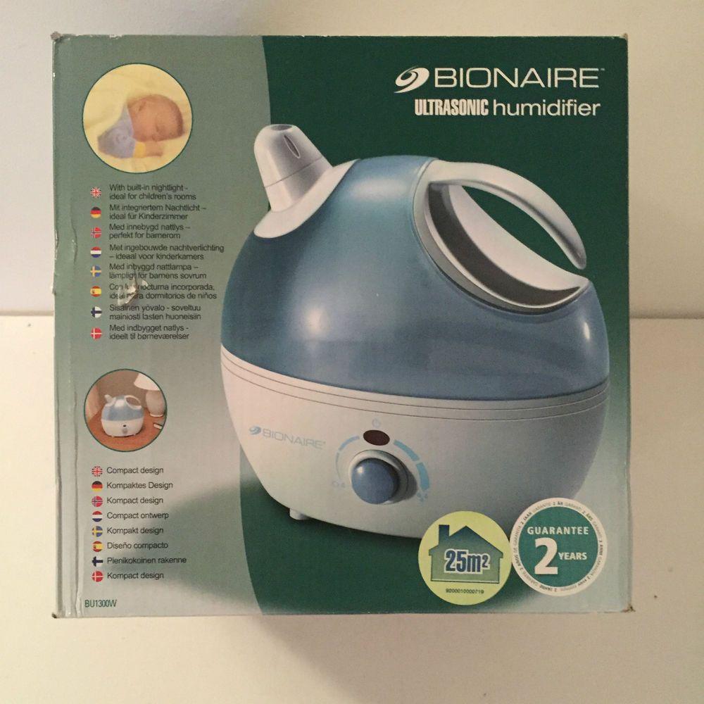 Bionaire Compact Ultrasonic Humidifier BU1300 100