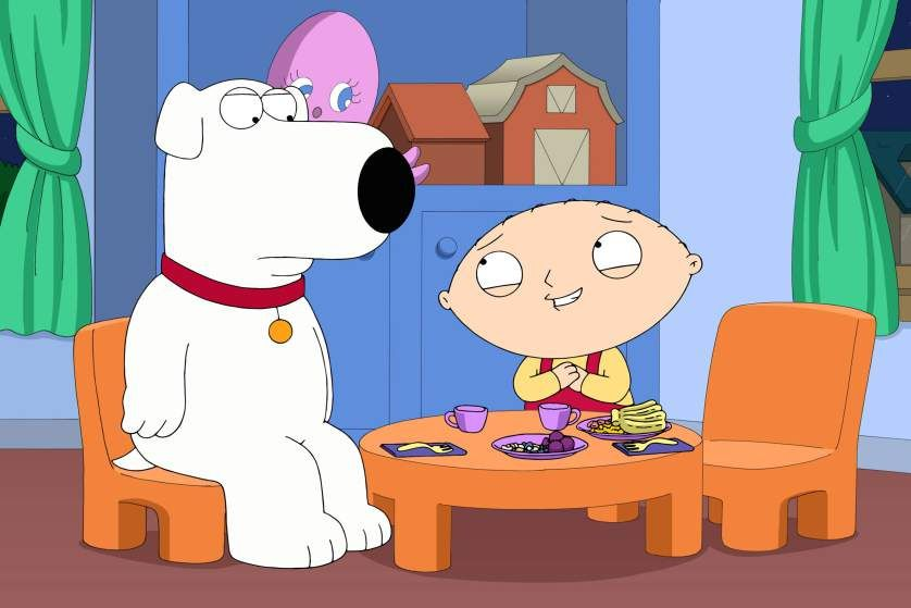Brian and Stewie in 'Family Guy.' (Photo: Fox)