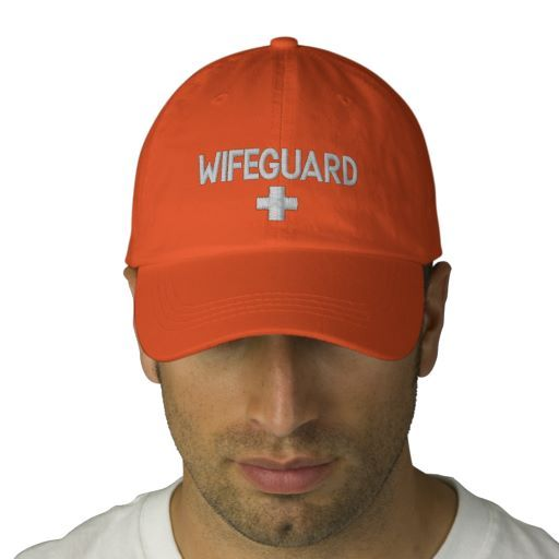 WIFEGUARD EMBROIDERED HAT