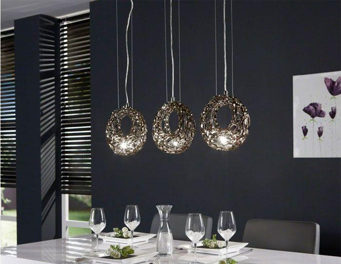 Lamparas modernas Tipos de lámparas Pinterest