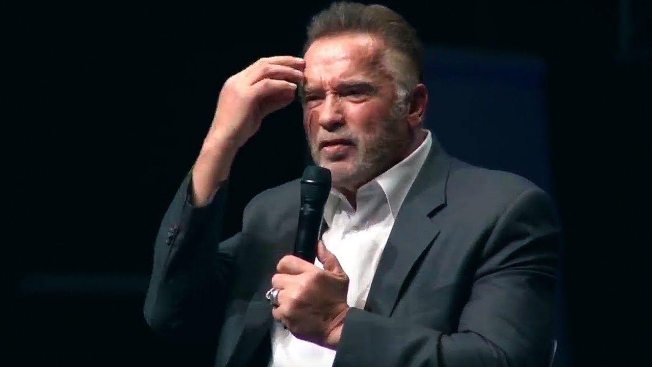 Arnold Schwarzenegger 2018 El Discurso Que Rompió Internet