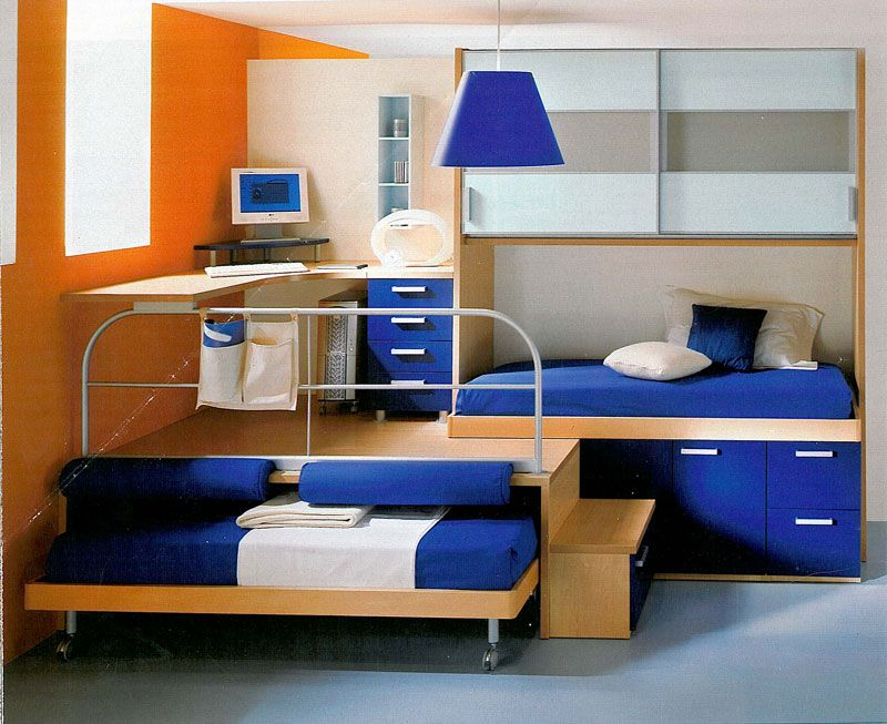 Habitacion infantil peque a ni o decoraci n dormitorios for Dormitorios infantiles nino