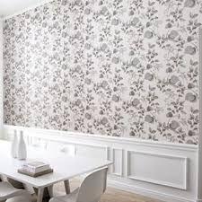 Resultado de imagem para boiserie quarto com papel de parede