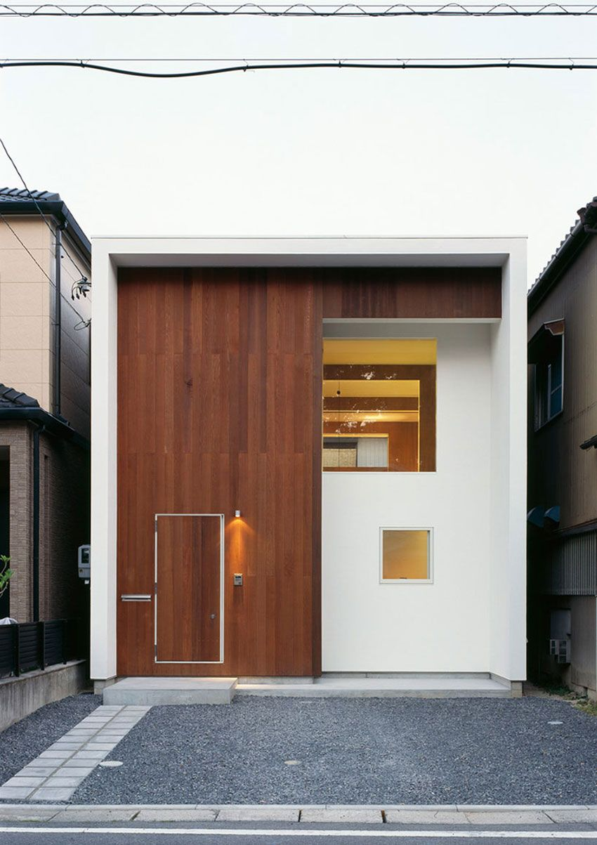 Wbe House A Small Contemporary Home In Japan By Auau Homedsgn Modern Small House Design Small House Design Japanese House