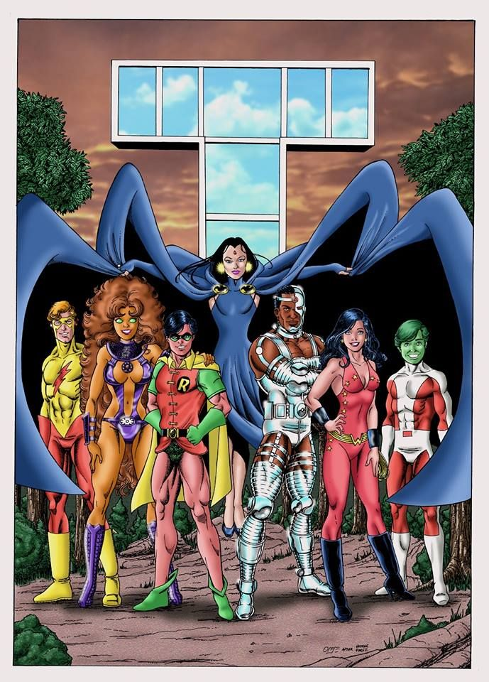 The 80S New Teen Titans  Teen Titans  The New Teen -3619