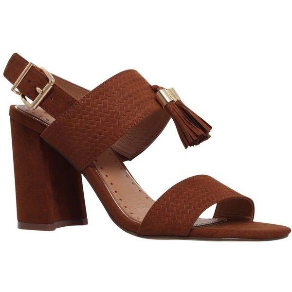 8962a766dd74 Miss KG Elaina High Heel Tassel Detail Sandals
