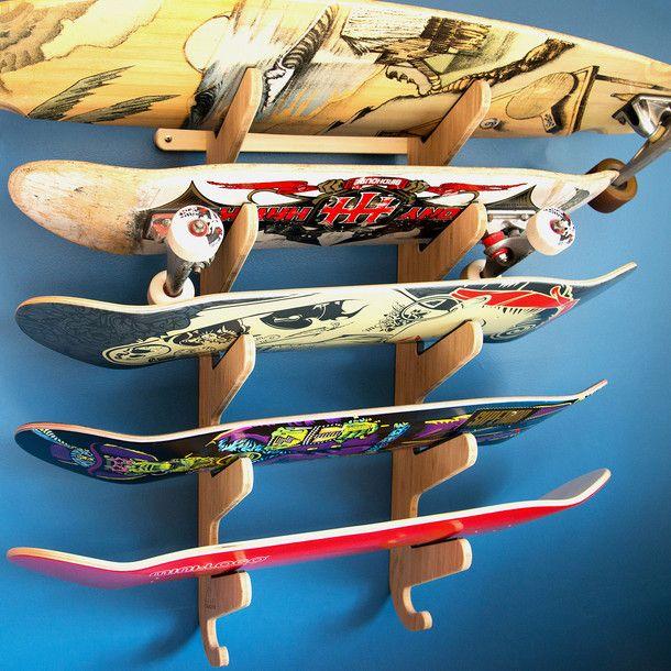 The Moloka'i Pro Skateboard Rack by Grassracks   Fab.com