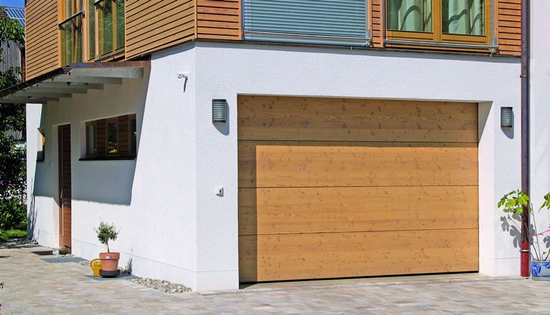Wood Effect Un Ribbed Garage Doors Un Ribbed Means That There Are