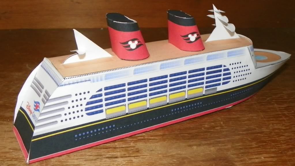 Make Your Own Paper Disney Cruise Ship Printable All Things - Disney cruise ship toy
