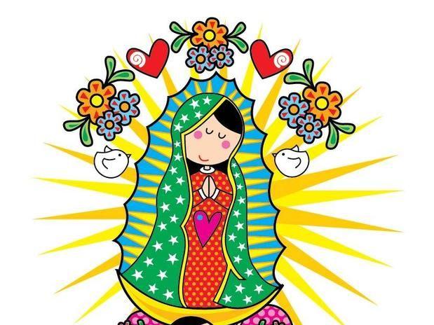 imagenes de la virgen de guadalupe en caricatura para imprimir (8 ...