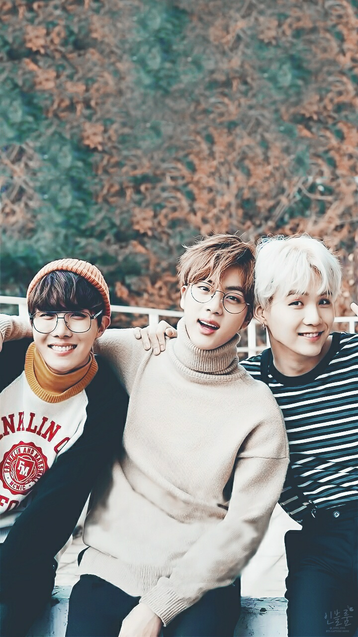 JHope, Jin & Suga ♥ 방탄소년단 ♥ Pinterest BTS, Kpop and