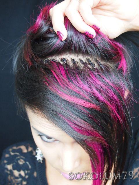 Sokolum Hair Extension Update Fotd Braids With Extensions Hair Extensions For Short Hair Short Natural Hair Styles