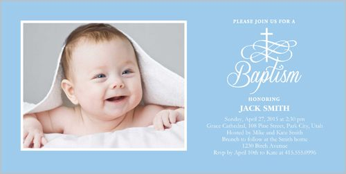 17 Best images about Baptism Invitations on Pinterest | Baroque ...
