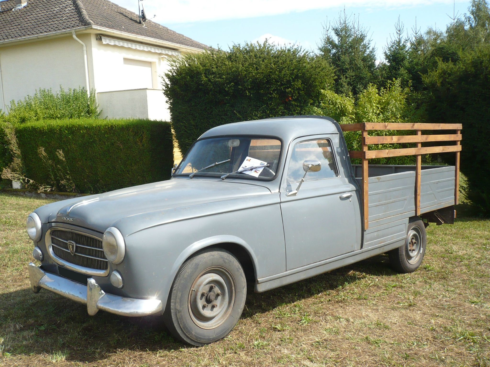 Très PEUGEOT 403 pick-up … | Pinteres… XT81