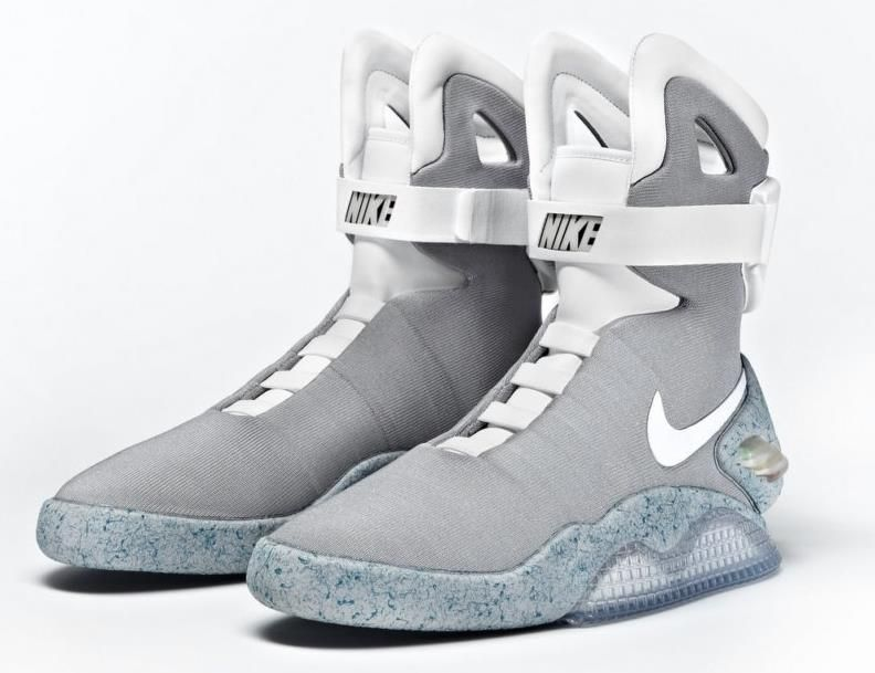Back to the Future! We are wearing moon boots in the future?