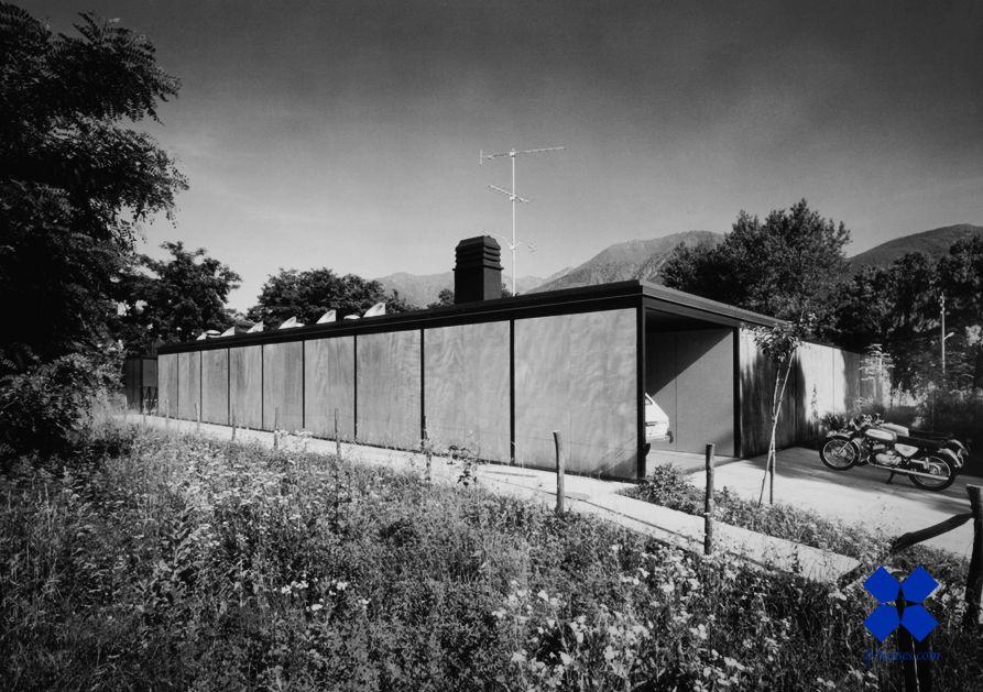 Livio Vacchini /// Vacchini House /// Ascona, Ticino, Switzerland /// 1968-1969