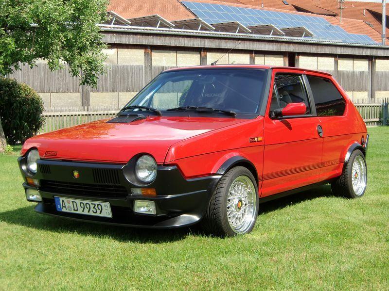 Fiat Ritmo Abarth Klassiske Biler Biler