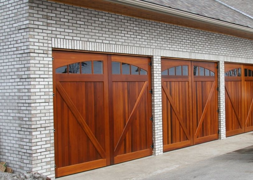 Garage Doors Custom Wood Garage Doors We Can Give