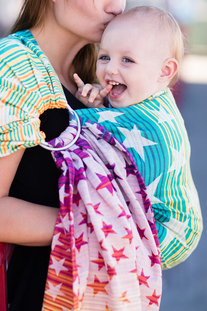 2e048bfd0b99b Baby Tula's Constellation Athena - Wrap Conversion Ring Sling Baby Carrier.  'Constellation' Athena