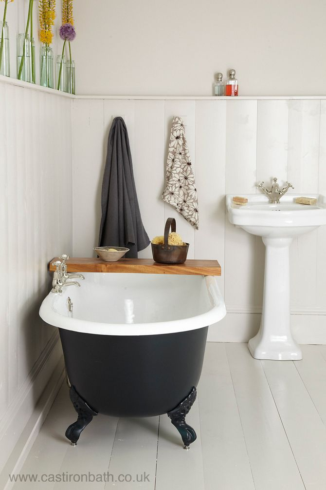 A perfect cast iron bath for small bathrooms - the Petite Millbrook ...
