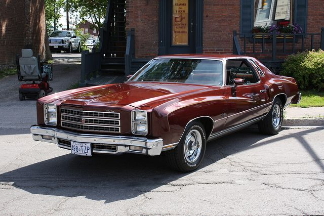 My Favorite Car 1976 Monte Carlo Was This Color With White Vinyl