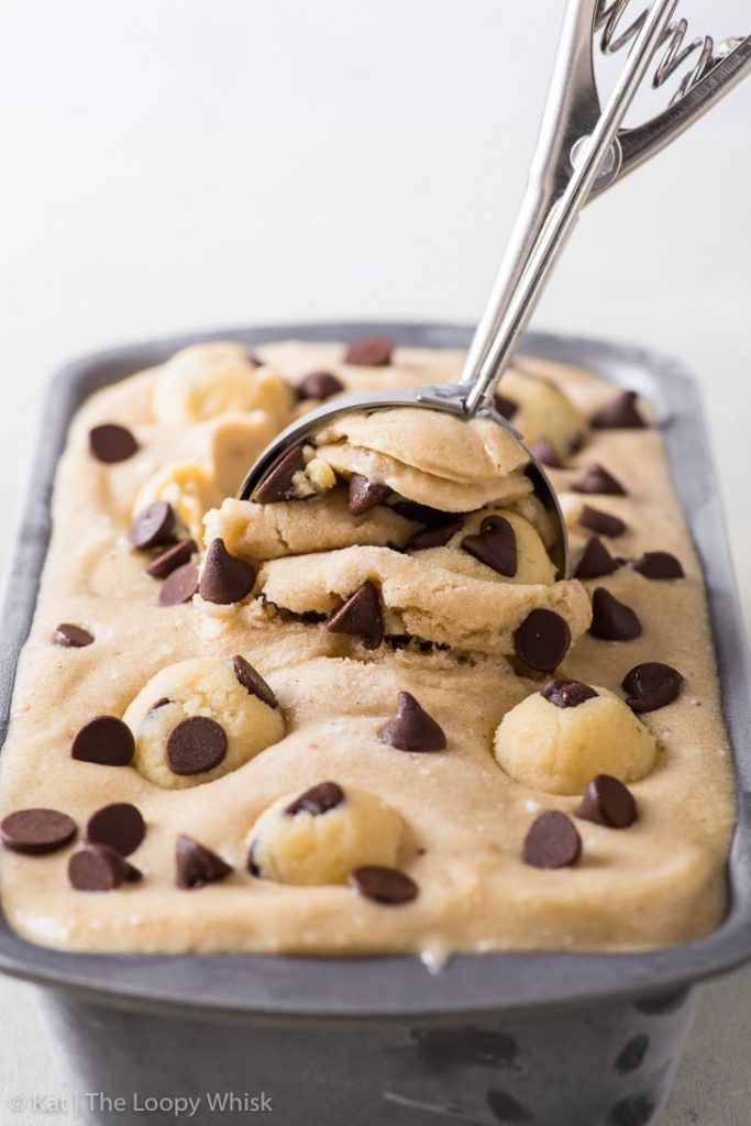 Vegan Cookie Dough Ice Cream (Gluten Free, Dairy Free, Vegan) - [SPONSORED] It truly doesn't get much better than this vegan cookie dough ice cream – especially when it's smothered in luscious vegan chocolate fudge sauce. Cookie dough lovers: this one's for you! Plant based recipes. Vegan recipes. Vegan ice cream. Dairy free ice cream. Nice cream recipes. Banana ice cream. Vegan cookie dough. Edible cookie dough. Vegan desserts. Gluten free desserts. #vegan #icecream #vegancookiedough Ve #cookiedoughfudge