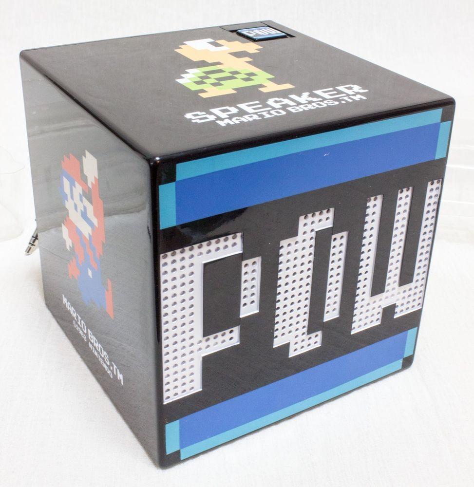 Nintendo Super Mario Bros. Box Type Monaural Speaker  JAPAN ANIME NES FAMICOM