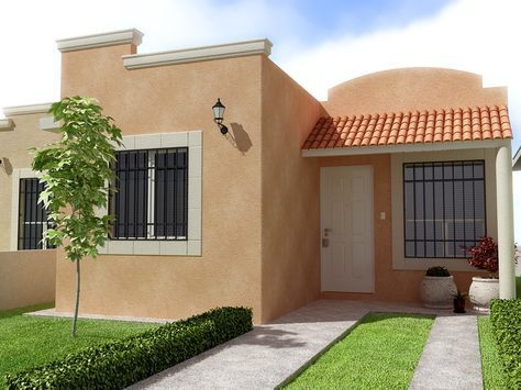 Fachadas de casas peque as buscar con google for Ideas fachadas de casas pequenas
